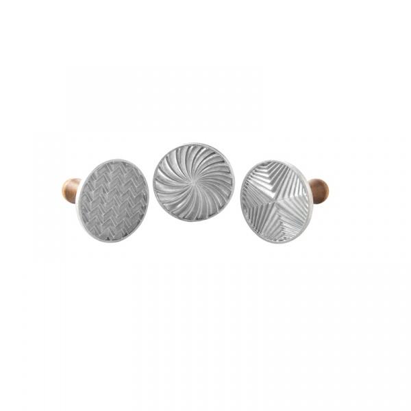 Stemple do ciastek 3 szt. Nordic Ware Geo 01245