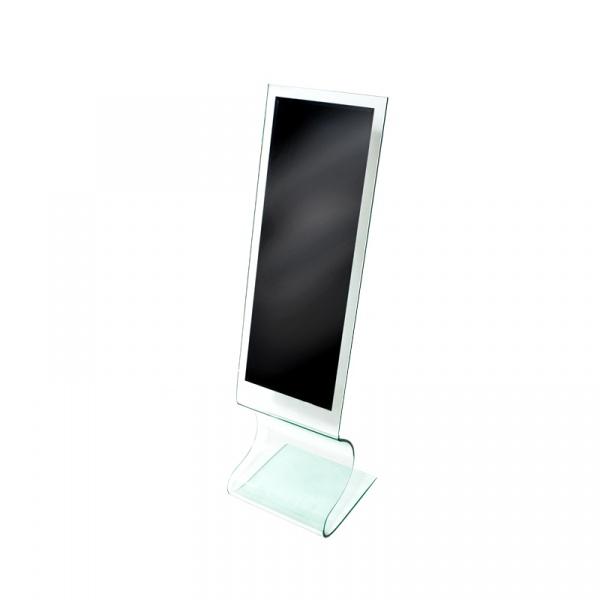 Stojące lustro w ramie 12 mm King Bath Innovation SI-DM-002-C/TO-DJ-02-C