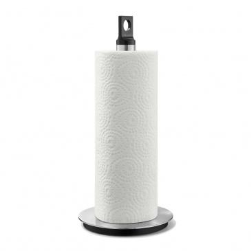 Stojak na ręcznik papierowy 33,2cm Zack Matos czarno-srebrny