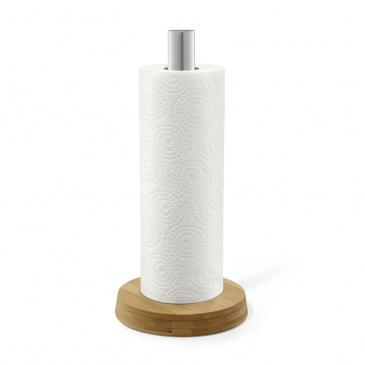 Stojak na ręczniki papierowe 33,2cm Zack Ponde brązowo-srebrny