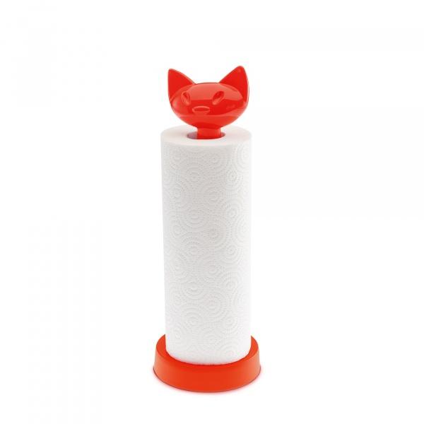 Stojak na ręczniki papierowe Koziol Miaou pomarańczowo-czerwony KZ-5225633