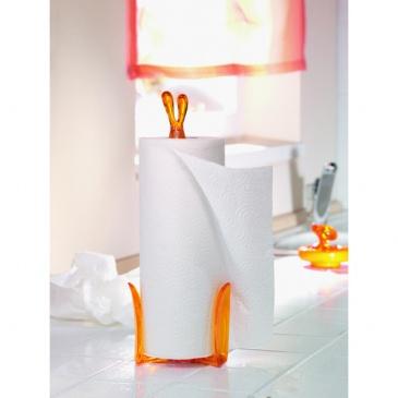 Stojak na ręczniki papierowe Koziol Roger czerwony