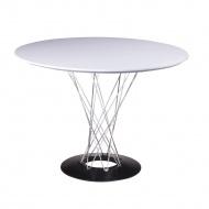 Stół  72x100cm King Home Twist biały