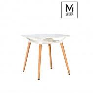 Stół 74x80cm Modesto Hide Square biały