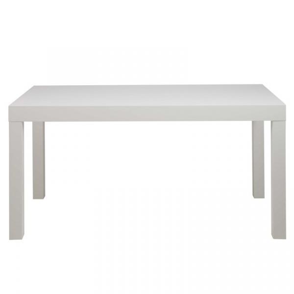 Stół 76x80x150 cm Actona Angela biały 5705994849875