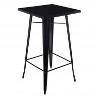 Stół barowy Paris D2 czarny