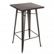 Stół barowy Paris D2 metaliczny