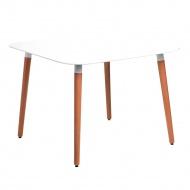 Stół do jadalni 100x100x100cm D2 Copine biały