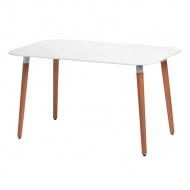 Stół do jadalni 130x80x72cm D2 Copine biały
