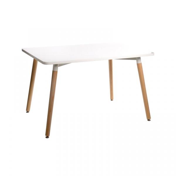 Stół do jadalni 80x120x72cm D2 Copine biały 5902385701013