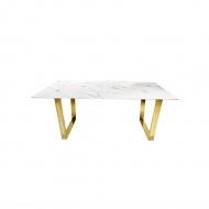 Stół jadalniany Ekskluzywny Madera 180x90 gold