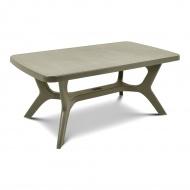Stół ogrodowy 100x177x71cm Bazkar BALTIMORE Cappucino/beż