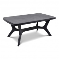 Stół ogrodowy 100x177x71cm Bazkar BALTIMORE Grafit