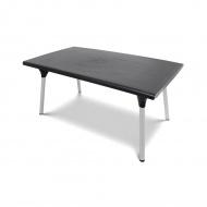 Stół ogrodowy 160x90cm Bazkar DANTE brąz/srebrny