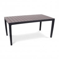 Stół ogrodowy 160x90x74cm Bazkar TORINO brązowy