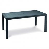 Stół ogrodowy 95x161x75cm Bazkar MELODY Antracyt/szary