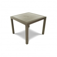 Stół ogrodowy 95x95x75cm Bazkar MELODY QUARTET Cappuccino