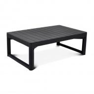 Stół ogrodowy Bazkar 116x71x40/65cm LYON Antracyt/szary