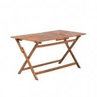 Stół ogrodowy drewniany 140 x 75 cm Sole BLmeble