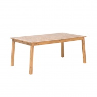 Stół ogrodowy drewniany 180/240 x 100 cm rozkładany Autunno BLmeble