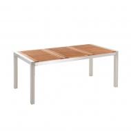 Stół ogrodowy mahoń 180 x 90 cm Efraim BLmeble