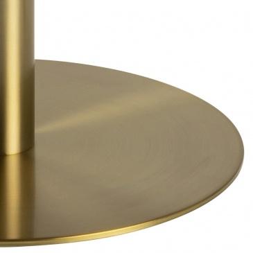 Stół okrągły Corby marmur/złoty