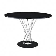 Stół okrągły do jadalni 100cm D2 Cyklon czarny