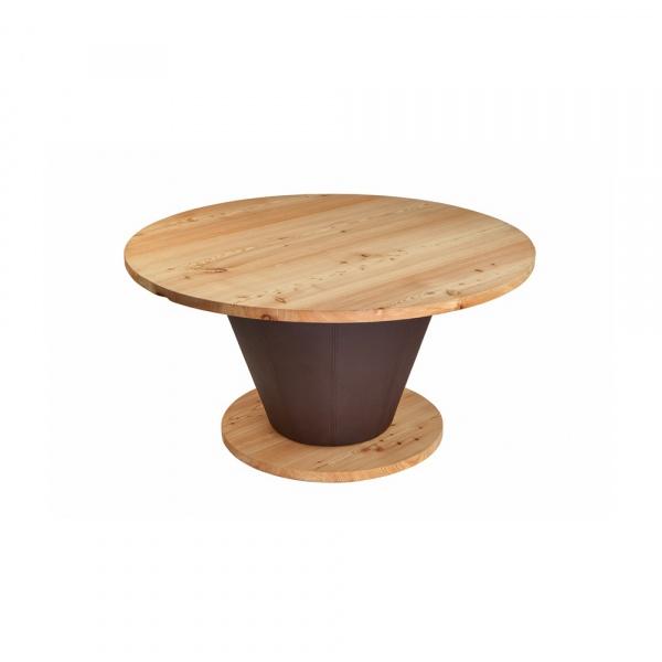 Stół okrągły do jadalni 150 cm Quentin Design modrzew QD-003