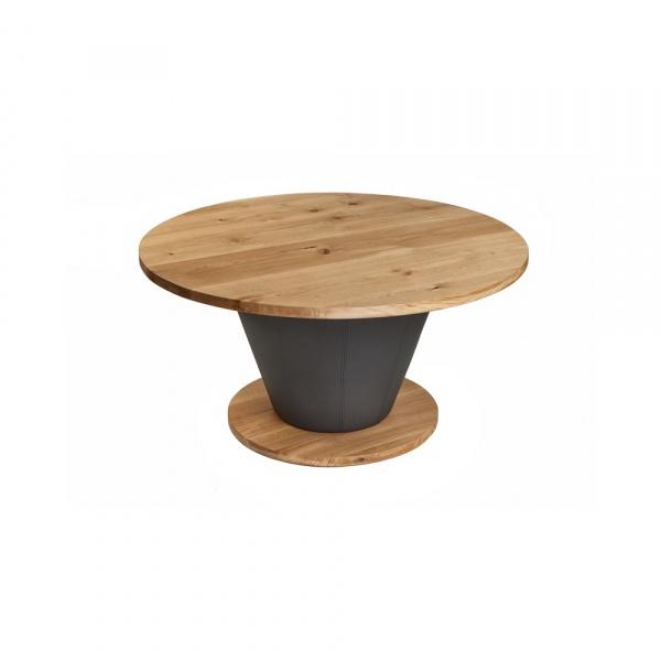 Stół okrągły do jadalni 150cm Quentin Design dąb QD-004
