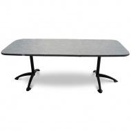 Stół rozsuwany Arioso MFG 155-210cm antracyt/szara mozaika