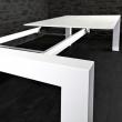 Stół X7 biały połysk rozkładany 170x260 DK-24517