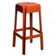 Stołek barowy Sarjeta orange DK-62705