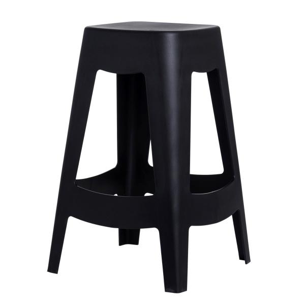 Stołek D2 barowy Tower czarny DK-65330