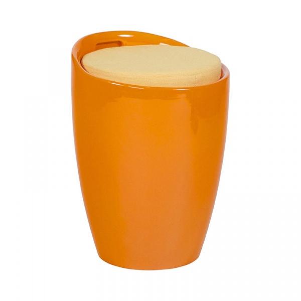 Stołek Ese Kokoon Design pomarańczowy LS00090OR