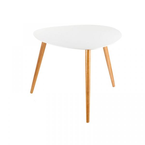 Stolik 60x60cm Brandani Tavoli L biały 55650