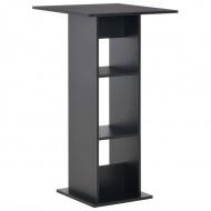 Stolik barowy, czarny, 60 x 60 x 110 cm
