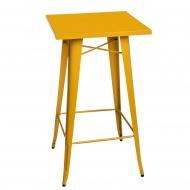 Stolik barowy Paris D2 żółty