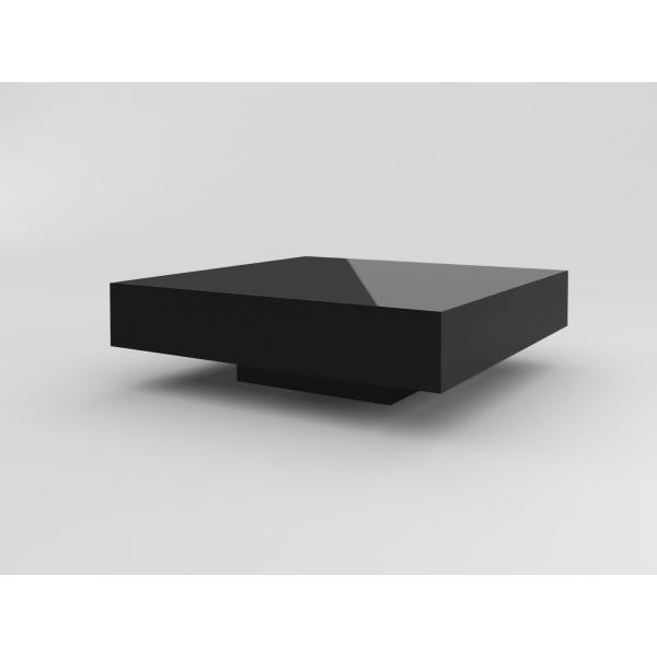 Stolik D2 Small Quadrat 80 czarny wysokość 35 5902385710473