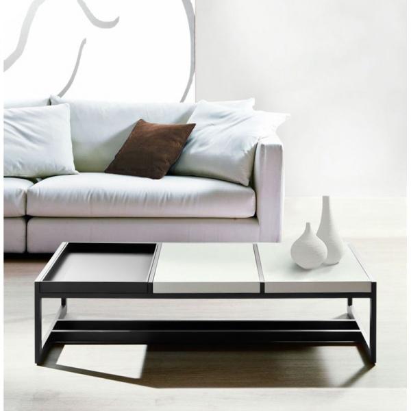 Stolik D2 Tray Big szary biały DK-71688