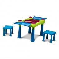 Stolik edukacyjny 56x79x50cm Bazkar CREATIVE TABLE niebieski