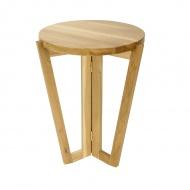 Stolik kawowy 450 60x45cm Maduu Studio Windmill Round naturalny