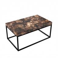 Stolik kawowy Torg Custom Woods 60x100x45cm brąz