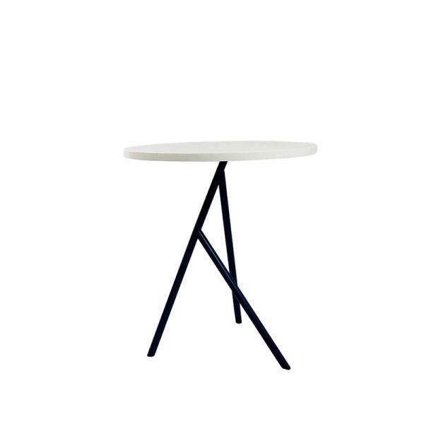 Stolik kawowy Tri Valevsky biało-czarny 3A01-00001