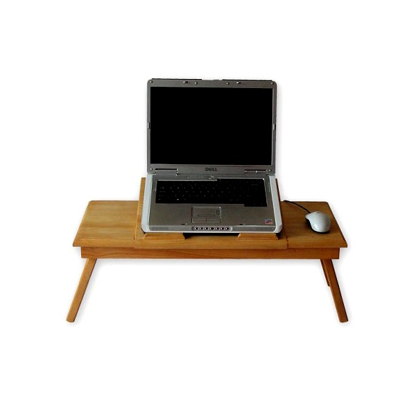 Stolik pod laptopa z podstawką Comfortable DUO naturalny CT-3010