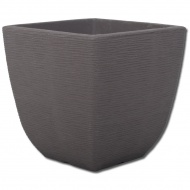 Stylowa Donica na taras Square COTSWOLD Planter 38 cm : Kolor - brown