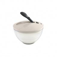 Suszarka do sałaty na dźwignię 22,5 cm Lurch biało-szara