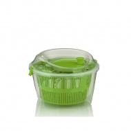 suszarka do sałaty, śred. 24,5x17,5 cm, zielona