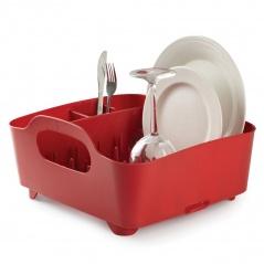 Suszarka na naczynia Umbra Tub czerwona