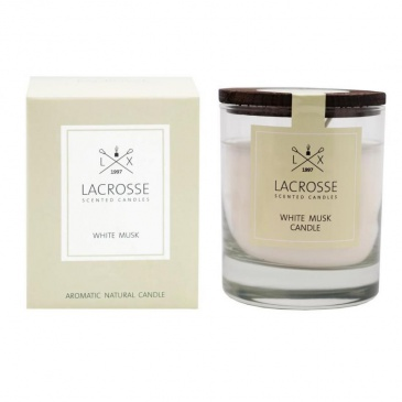 Świeca zapachowa White Musk Lacrosse