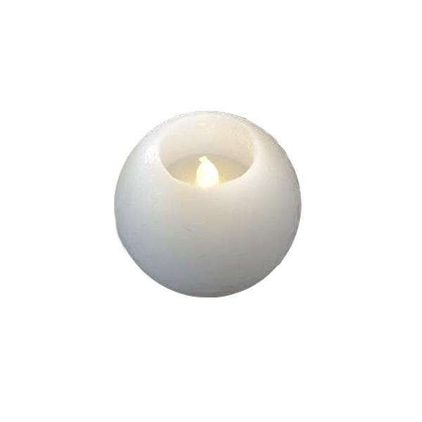 Świece białe LED 2szt Sirius Mona SR-20001